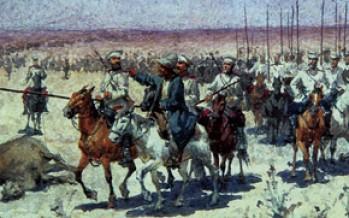 Удар в спину:захват Россией казахских земель