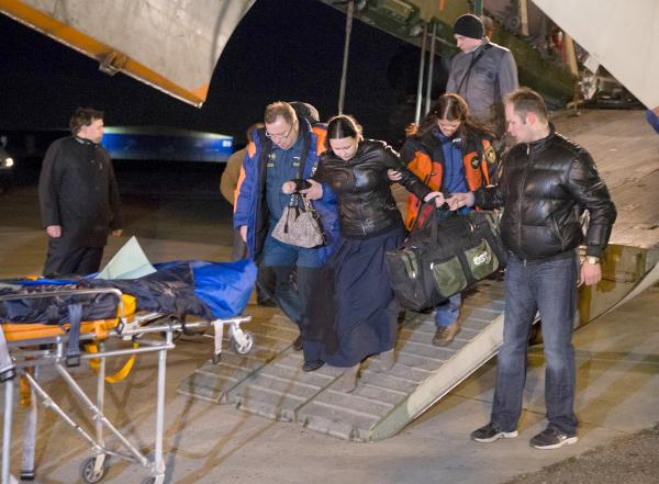 Пострадавшие в результате теракта в Волгограде доставлены в Москву