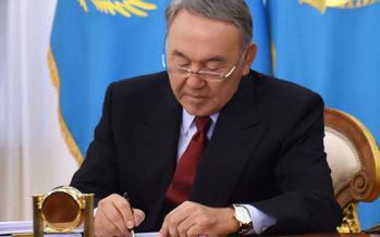 Назарбаев бірқатар кадрлық тағайындаулар жүргізді