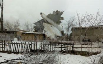 Бішкек маңындағы ұшақ апатынан 32 адам қаза болды (фото)