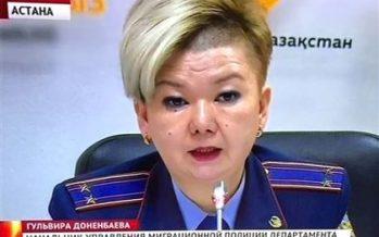 Астананың көші-қон полициясы басшысының шаш үлгісі ғаламторда қызу талқылануда