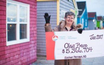 Түсінде көрген сандарды жазған әйел лотереядан $4 миллион ұтып алды