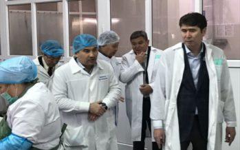Посещение Капшагайского  рыбоперерабатывающего завода