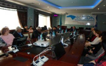 Встреча с трудовым коллективом ТОО  «Водные ресурсы – Маркетинг»