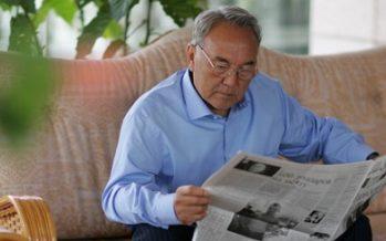 Мемлекет басшысы Н. Назарбаев қысқа мерзімді демалыс алды