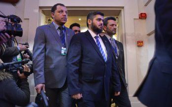 Сирия оппозициясының тоғыз қарулы тобы Астанадағы келіссөзге қатысуға келді