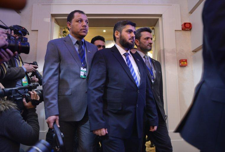 Астана процесі, Сирия оппозициясы, Астана Сирия, Мухаммад Алуш