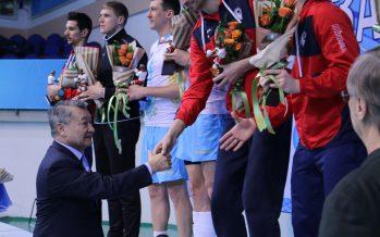 «Алтай» волейбол командасы екі мәрте ел чемпионы атанды (ФОТО)