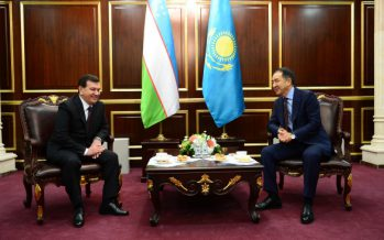 Шавкат Мирзиеев мемлекеттік сапармен Астанаға келді