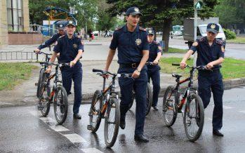 Шығыс Қазақстан облысында полицейлер велосипедпен жүретін болды
