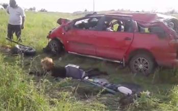 Батыс Қазақстанда болған сұмдық жол апатының видеосы таралып жатыр
