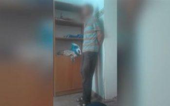 Педофилді ұрып, видеоға түсірген полицей жұмыстан қуылды (ВИДЕО)