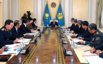 Назарбаев қауіпсіздік кеңесін өткізді