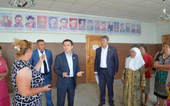 Нұртай Сабильянов Шығыс Қазақстан облысының тұрғындарымен кездесуде