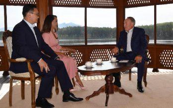 Нұрсұлтан Назарбаев латынға көшу туралы айтты (ВИДЕО)
