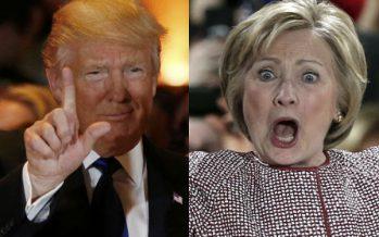 Трамп Клинтонды қалай «ұрып құлатқаны» туралы видеоны жариялады