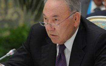 Назарбаев өзінің кінәсі туралы айтты