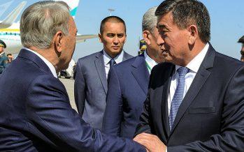 Назарбаев қырғыз елінің жаңа президентін жеңісімен құттықтады